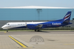 G-CFLU - Saab 2000 (2000-055) - Eastern Airways - 29.05.2009 - Southampton (SOU/EGHI)