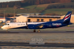 G-CDKA - Saab 2000 (2000-006) - Eastern Airways - 07.11.2011 - Aberdeen (ABZ/EGPD)