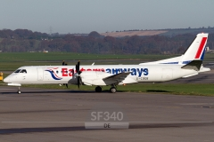 G-CDEB - Saab 2000 (2000-036) - Eastern Airways - 07.11.2011 - Aberdeen (ABZ/EGPD)