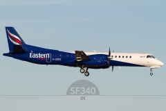 G-CERY - Saab 2000 (2000-008) - Eastern Airways - 07.11.2011 - Aberdeen (ABZ/EGPD)