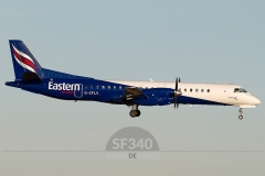 G-CFLV - Saab 2000 (2000-023) - Eastern Airways - 07.11.2011 - Aberdeen (ABZ/EGPD)