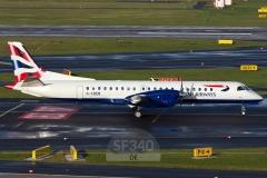 G-CDEB - Saab 2000 (2000-036) - British Airways (Eastern Airways) - 31.12.2013 - Düsseldorf (DUS/EDDL)