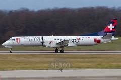 HB-IYD - Saab 2000 (2000-059) - Darwin Airline - 11.01.2014 - Genf (GVA/LSGG)