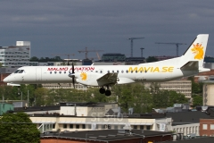 SE-LSE - Saab 2000 (2000-046) - Malmö Aviation - 27.05.2014 - Stockholm (BMA/ESSB)