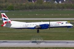 G-CDEB - Saab 2000 (2000-036) - British Airways (Eastern Airways) - 18.04.2015 - Düsseldorf (DUS/EDDL)