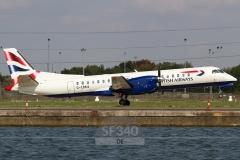 G-CDKA - Saab 2000 (2000-006) - British Airways (Eastern Airways) - 11.09.2015 - London (LCY/EGLC)