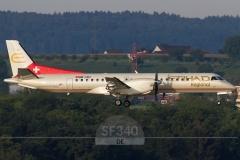 HB-IZH - Saab 2000 (2000-011) - ETIHAD Regional (Darwin Airline) - 14.08.2016 - Zürich (ZRH/LSZH)