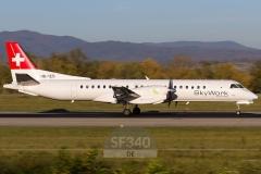 HB-IZD - Saab 2000 (2000-007) - Skywork Airlines - 17.10.2017 - Basel-Mülhausen (BSL/LFSB)