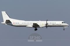 HB-IZS - Saab 2000 (2000-035) - Skywork Airlines - 18.03.2018 - Amsterdam (AMS/EHAM)