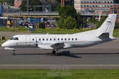100008 - Saab 340 (340B-367) - Swedish Air Force - 10.06.2021 - Stockholm (BMA/ESSB)