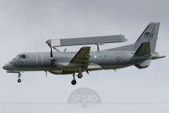 100004 - Saab 340 (340B-395) - Swedish Air Force - 22.06.2021 - Linköping (ESCF)