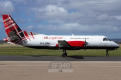 G-LGNM - Saab 340 (340B-187) - Loganair - 08.05.2018 - Stornoway (SYY/EGPO)